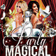 Party Magical - Flyer PSD Template - GraphicRiver Item for Sale
