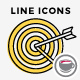 Line Icons With Color Fill - GraphicRiver Item for Sale