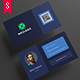 Minimal Web Style Business Card Template - GraphicRiver Item for Sale