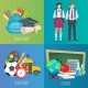 Set Of Vector Banners Back To School. - GraphicRiver Item for Sale