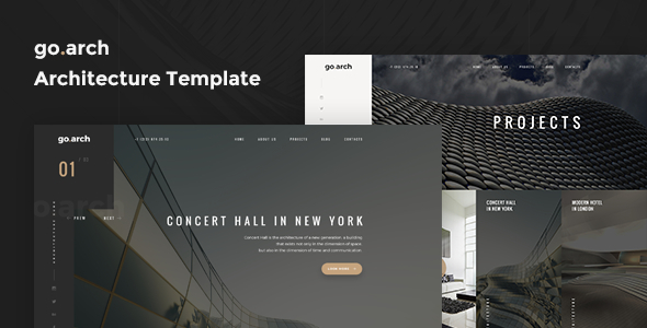 go.arch  - Architecture & Interior Template