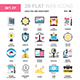 Analytics and Investment Flat Web Icons  - GraphicRiver Item for Sale