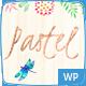 Pastel Floral Art WordPress Blog & Shop - ThemeForest Item for Sale