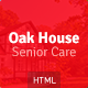Oak House - Senior Care, Retirement, Rehabilitation Home HTML5 Template - ThemeForest Item for Sale
