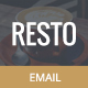 Resto, Restaurant Email Template + Builder Access - ThemeForest Item for Sale