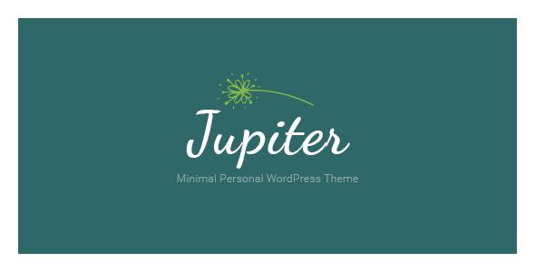 Jupiter Minimal Personal WordPress Theme