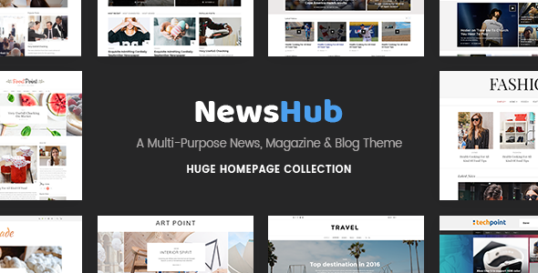 Newshub - Magazine & News Portal Theme
