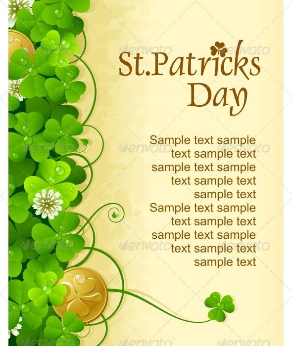 Saintt Patrick Day frame