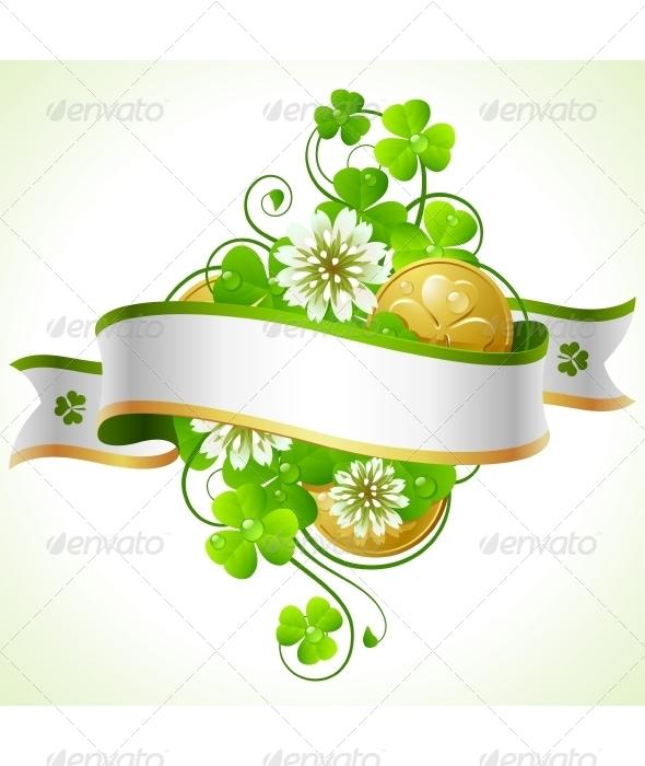 Saint Patrick Day frame