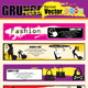 Vector abstract Grunge Banners - GraphicRiver Item for Sale