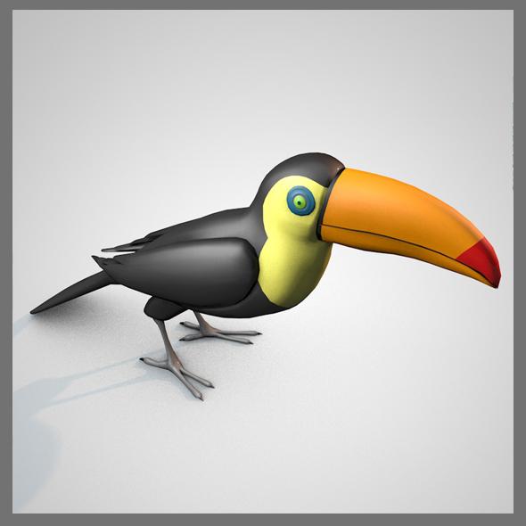 Birds CG Textures & 3D Models from 3DOcean