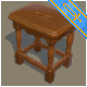 Game ready Stool - 3DOcean Item for Sale