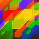 Colorful Rising Polygons - VideoHive Item for Sale