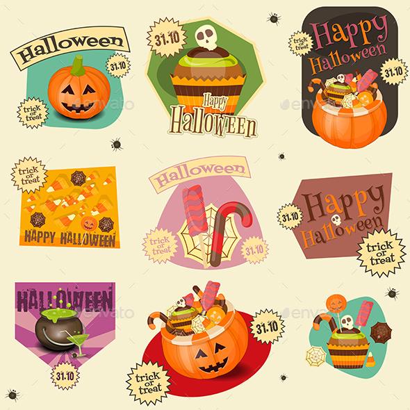 Halloween Stickers