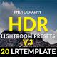 Photography HDR-(V.3) Lightroom Presets - GraphicRiver Item for Sale