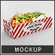 Hot Dog Tray Mock-up - GraphicRiver Item for Sale