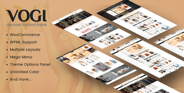 Vogi - Multipurpose WooCommerce WordPress Theme