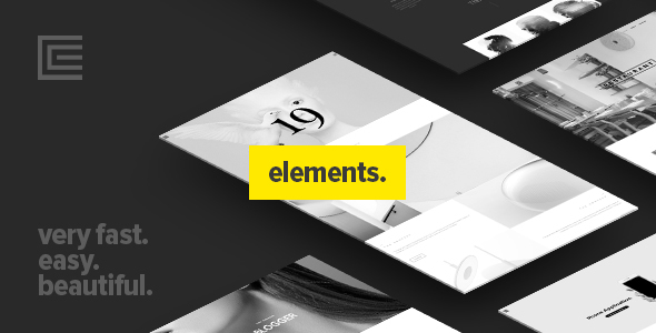 Elements – Creative Multi-Purpose WordPress Theme