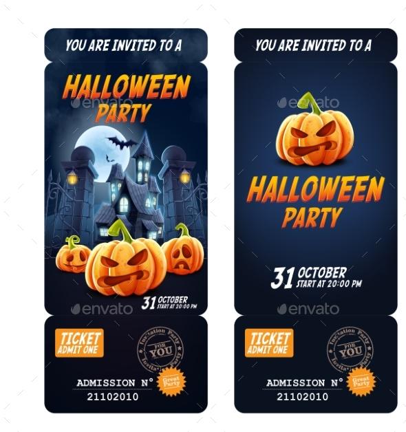 Halloween Invitation Flyer