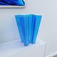 Bye-Bye Vase (Blue Glass) - 3DOcean Item for Sale