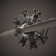 Animated Radial Engine - 3DOcean Item for Sale