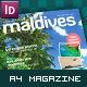 Maldives Tourist & Travel Magazine A4 - GraphicRiver Item for Sale