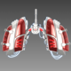 Mechanical lungs concept - 3DOcean Item for Sale
