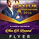 Pastor Appreciation Flyer Template - GraphicRiver Item for Sale