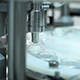 Cream Glass Recipients On A Production Line - VideoHive Item for Sale