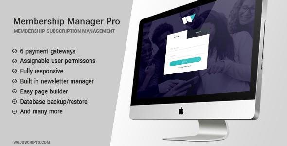 Membership Manager Pro, Membership Manager Pro plugin, Membership Manager Pro free download, Membership Manager Pro nulled, Membership Manager Pro demo