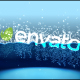 Half Water logo intro - VideoHive Item for Sale