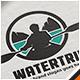 Water Trip Kayak Logo - GraphicRiver Item for Sale