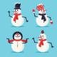 Snowmen Set - GraphicRiver Item for Sale