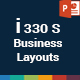 i330S Business Layouts PowerPoint Presentation Template - GraphicRiver Item for Sale