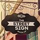 Street Sign Mock-Up V.2 - GraphicRiver Item for Sale