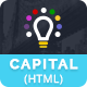Capital Creative HTML Template - ThemeForest Item for Sale