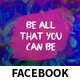Be All That You Can Be Event Facebook Covers and Post Banners - GraphicRiver Item for Sale