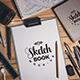 Sketch Book Mockups - GraphicRiver Item for Sale