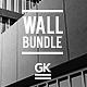 3D Logo Wall Bundle Mock-Up - GraphicRiver Item for Sale