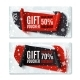 Two, Black Friday, Winter Gift Vouchers. - GraphicRiver Item for Sale