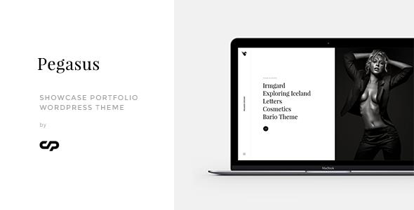 Pegasus - Showcase Portfolio WordPress Theme