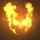 Fire Skull Logo - VideoHive Item for Sale