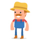 150+ Poses of Character Farmer - GraphicRiver Item for Sale