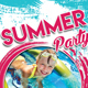 Summer Party / Drinks Flyer Template - GraphicRiver Item for Sale