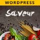 Saveur - Food & Restaurant WordPress - ThemeForest Item for Sale
