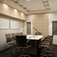 Realistic Conference Room 189 - 3DOcean Item for Sale