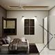 Realistic Master Bedroom 190 - 3DOcean Item for Sale