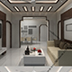 Realistic Living Room 192 - 3DOcean Item for Sale