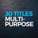 Titles Design Multi-Purpose - VideoHive Item for Sale