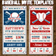 Baseball Ticket Party Invites 3 - GraphicRiver Item for Sale
